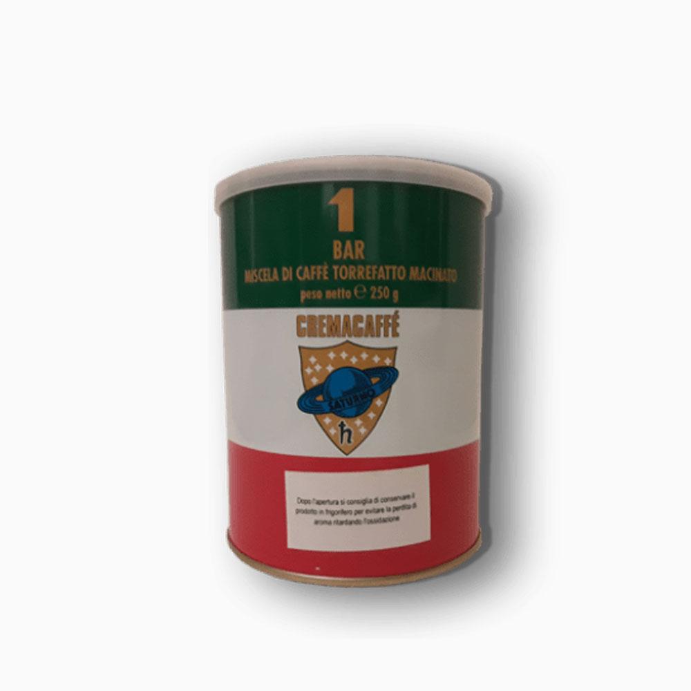 Lattina caffè  macinato per Moka 250 gr.