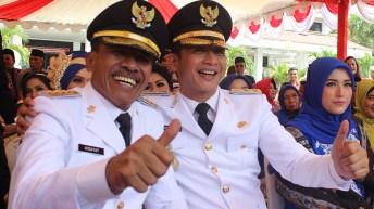 Pelantikan Walikota dan Wakil Walikota Palu 17 February 2016