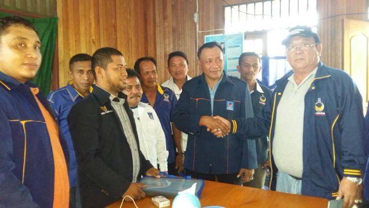 Kader Nasdem Ambil bagian pada penjaringan bakal calon di Banggai Kepulauan