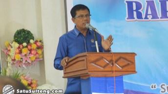 Rusli Tegaskan DPW PAN Sulteng Tolak Hasil Usulan Wagub