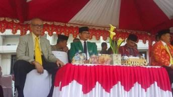 Wakil Walikota Palu Menghadiri Upacara Hut Provinsi Sulteng ke 54