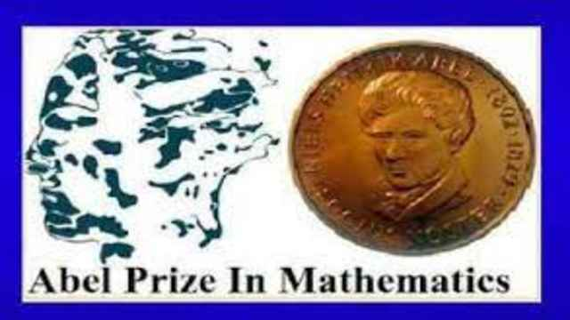 Abel Prize was given two mathematician