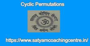 Cyclic Permutations