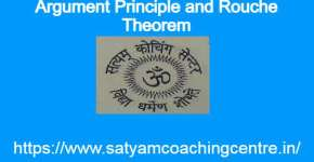 Argument Principle and Rouche Theorem