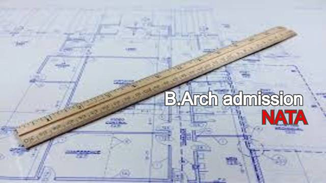 No entrance test for B Arch admission
