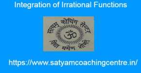 Integration of Irrational Functions Examples