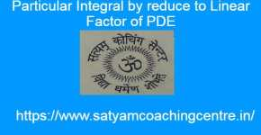 Particular Integral by reduce to Linear Factor of PDE