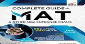 Select these best books for mat exam preparation
