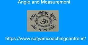 Angle and Measurement