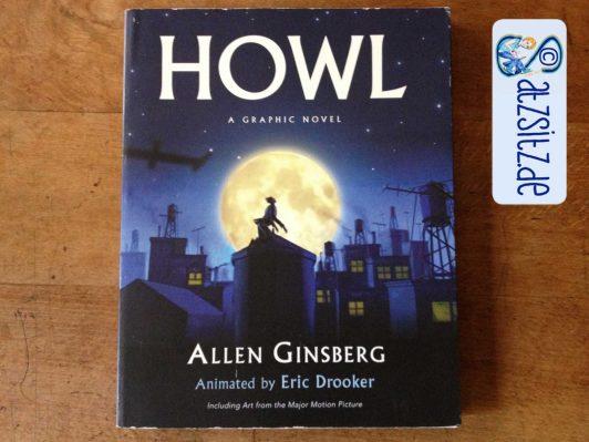 Cover der Graphic Novel HOWL aus dem Penguin Verlag. Zeigt eine dunkle Stadt im Mondschein.