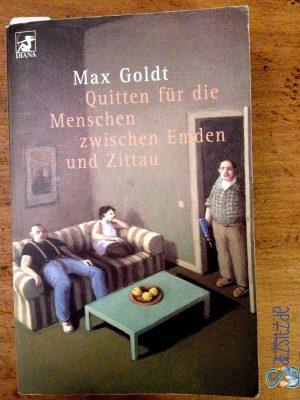 """Cover von """"Quitten für die Menschen zwischen Emden und Zittau"""" von Max Gold"""