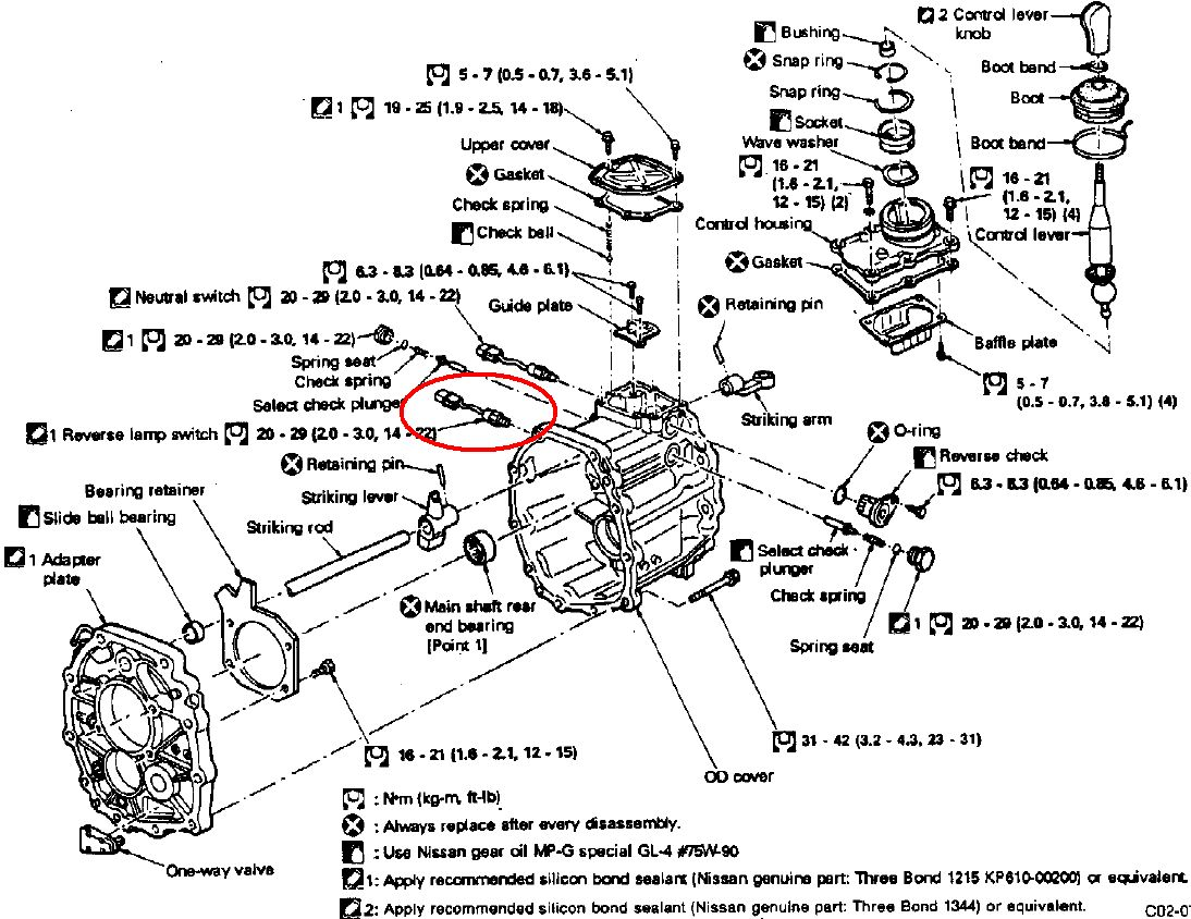 R32 Gtr Gearbox Neutral And Reverse Switch