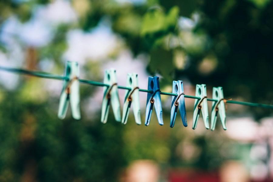 Wäscheleine für draußen