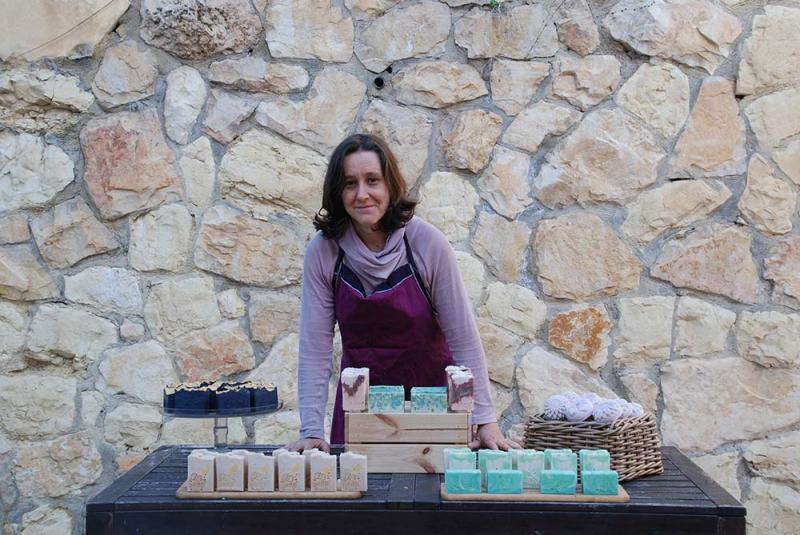 סבון טבעי עבודת יד ירושלים
