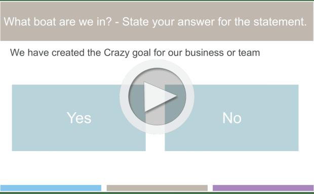 Online Training - Business goals