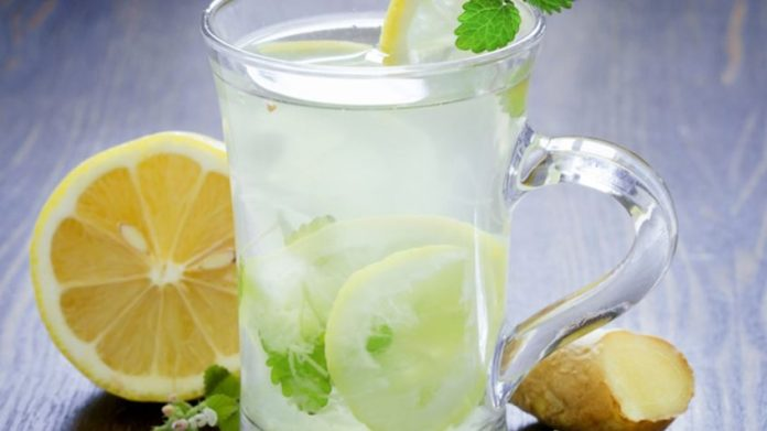 Ginger Honey Lemonade