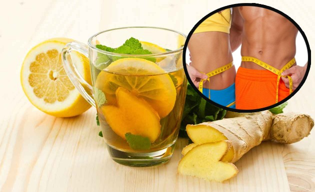 Suco Detox de limão com gengibre Para Emagrecer 3kg em 7 Dias