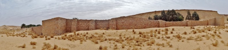 The walls of Dumat Al-Jandal's oasis (photo: Florent Egal)