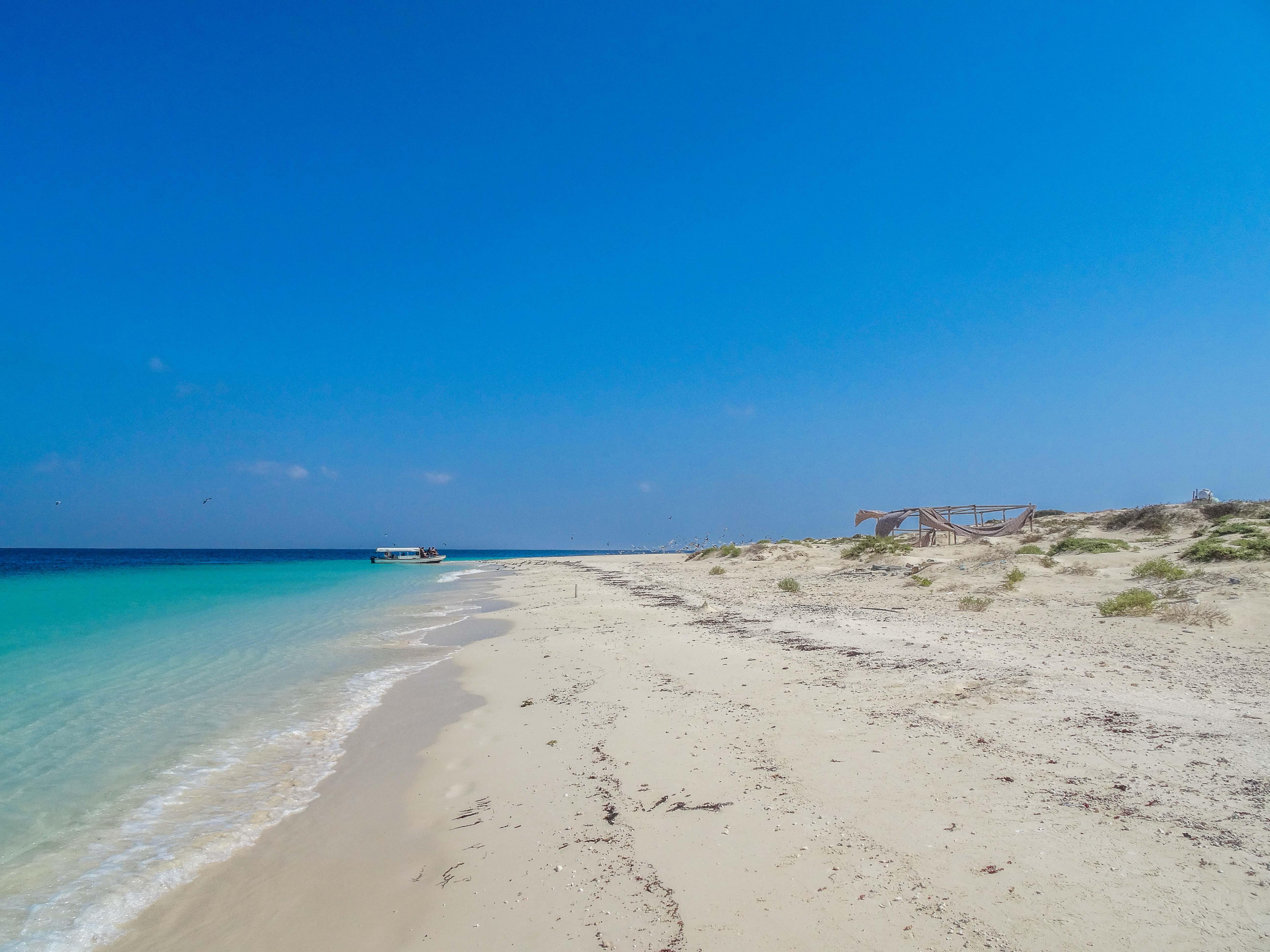 One of the countless pristine beaches of Farasan archipelago (photo: Florent Egal)