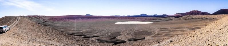 Crater of Jebel Bayda (photo: Florent Egal)
