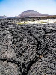 Recent lava flow of Jebel Qidr (photo: Florent Egal)