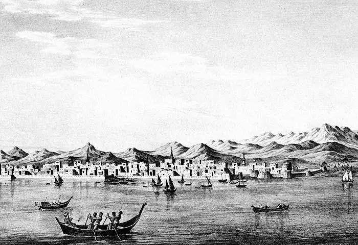 Jeddah, mid-1800s (photo: James Wellsted)