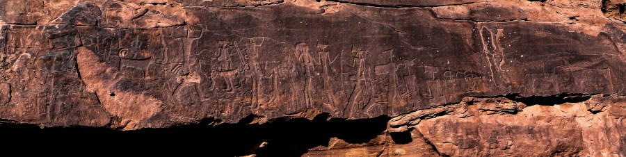 Ancient rock art at Luway (photo: Florent Egal)