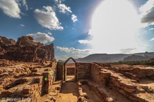 Ancient oasis city of Dedan (photo: Florent Egal)