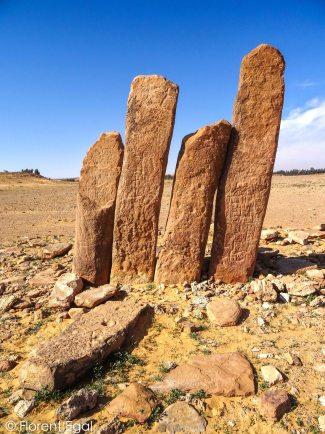 Rajajil standing stones (photo: Florent Egal)