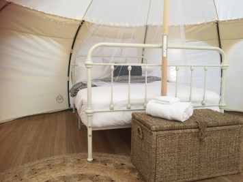 Harmony Belle Tent - Queen Bed with Netting - Daylesford Holiday Park Resized