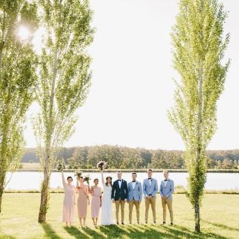 Lewis & Diana's Wedding at Sault Restaurant Daylesford