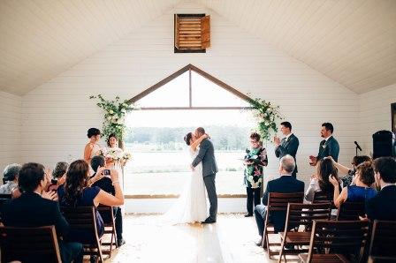 Nicole + Matt's wedding at Sault Restaurant Daylesford