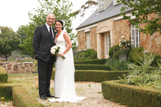 Belinda & Michaels Wedding at Sault Restaurant Daylesford