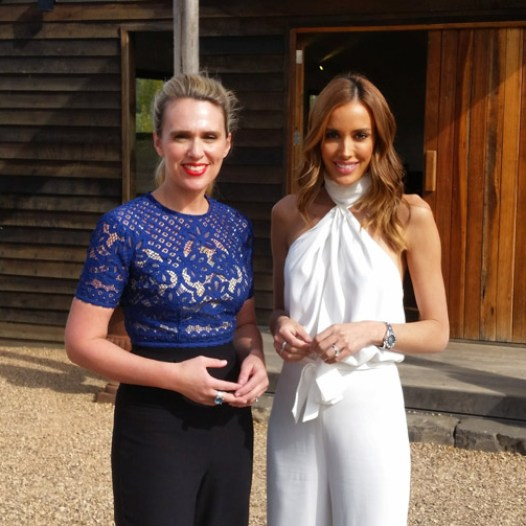 Jodi Flockhart and Rebecca Judd - Postcards Shoot at Sault Restaurant Daylesford