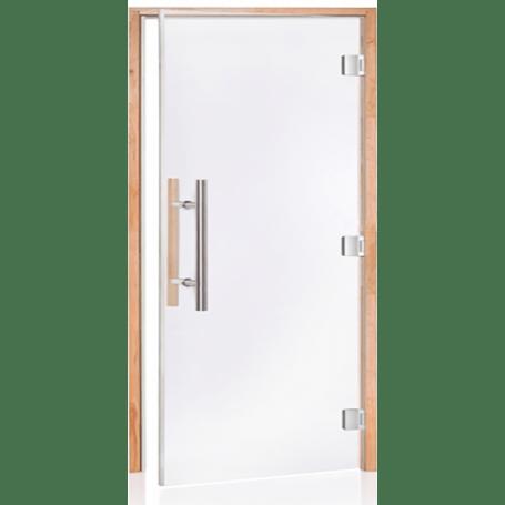 porte pour sauna pro luxe 100 norme pmr 100 x 200 cm