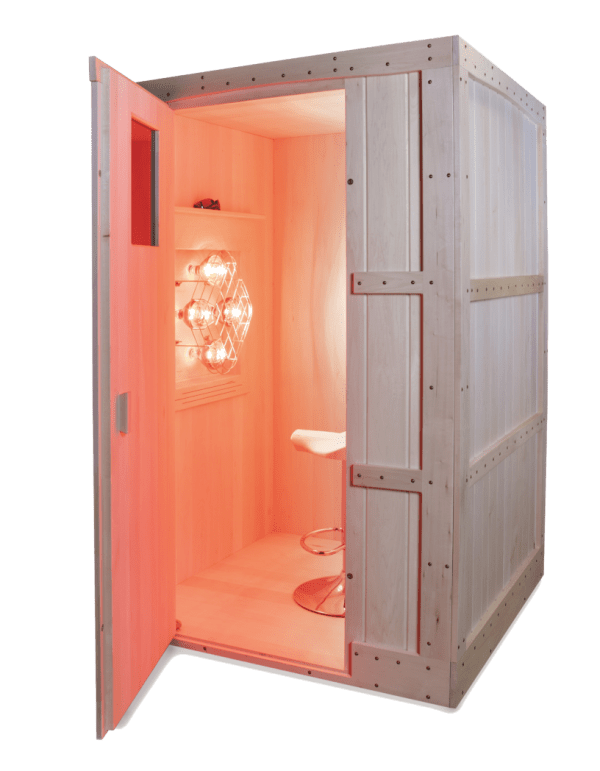 Basswood near infrared sauna