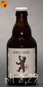 Kreuzbär - Fassbrause mit Koffein pH 2,29