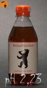 Kreuzbärchen - Fassbrause ohne Koffein pH 2,23