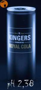 Kingers Royal Cola - pH 2,38
