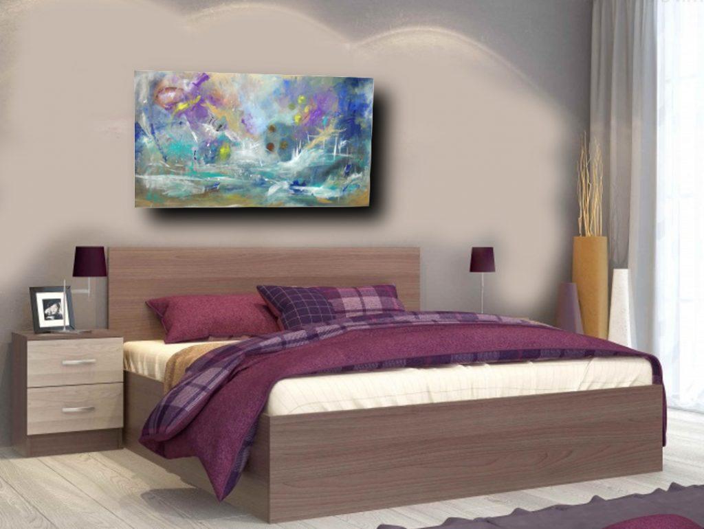 Mndeco stampa su tela gesto cuore amore immagine di arte della parete 5 pezzi quadri moderni dipinti foto per soggiorno camera da letto divano tv sfondo home. Quadri Per Camera Da Letto Astratti