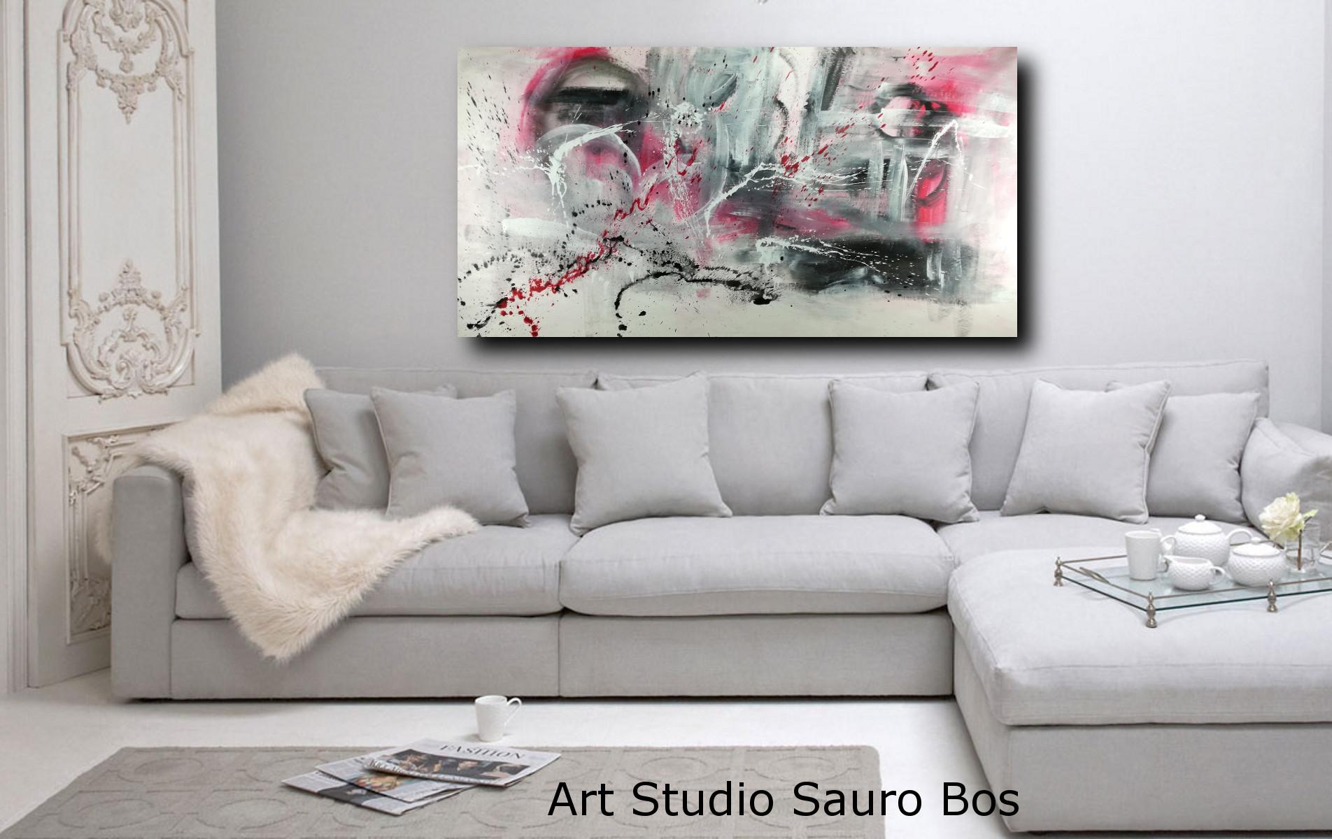 Lupia quadro moderno 5 pezzi in legno vogue 66x115 cm finestra inl tramonto. Dipinto Astratto Moderno Per Soggiorno 200x100