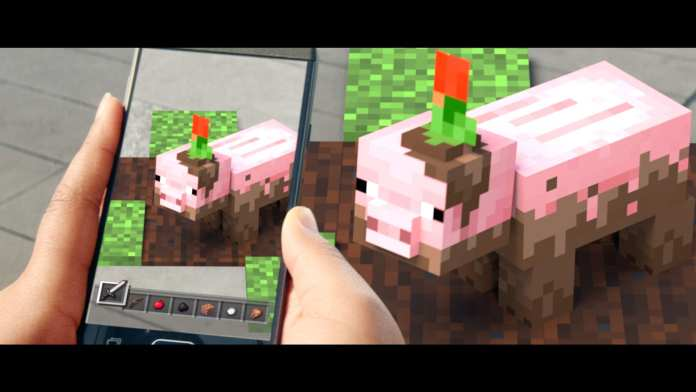 Minecraft Earth farming game play | Sausage Roll