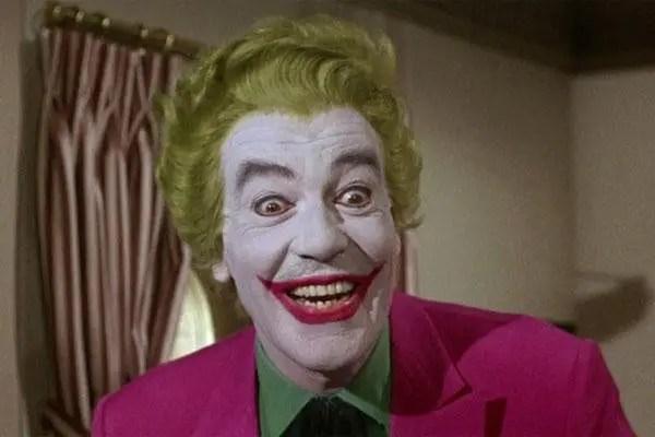 Joaquin's Joker dresses like Cesar Romero's Joker from the 60s | Sausage Roll