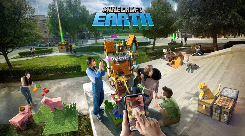 Minecraft Earth is much better than Pokemon Go | Sausage Roll