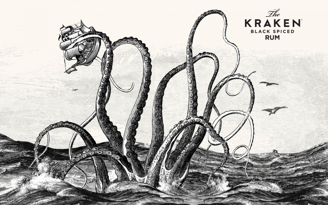 The Kraken Black Spiced Rum | Sausage Roll