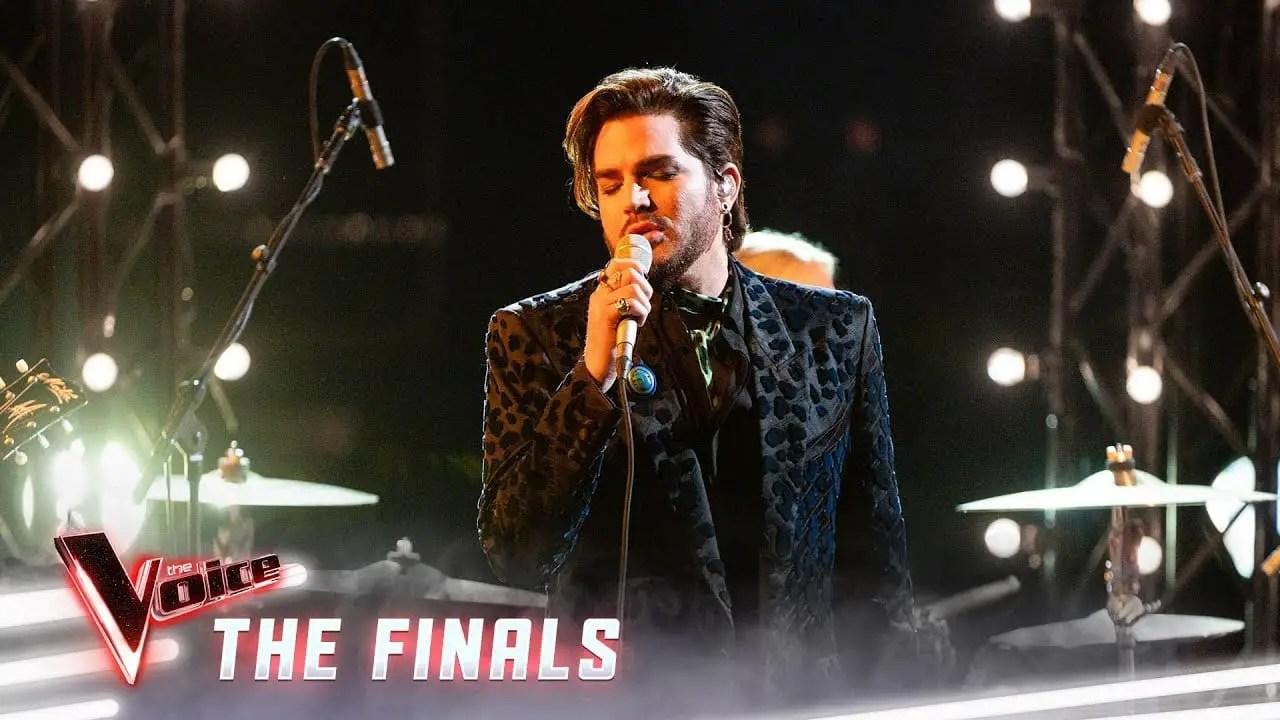 Adam Lambert sings New Eyes on The Voice   Sausage Roll