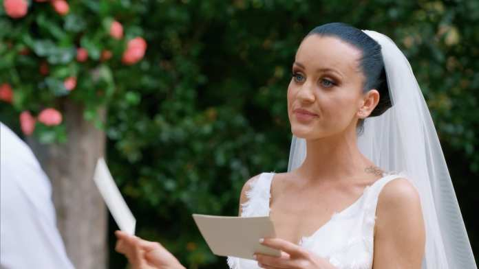 Innes Basic Wedding Vows, Married at First Sight (MAFS) | Sausage Roll