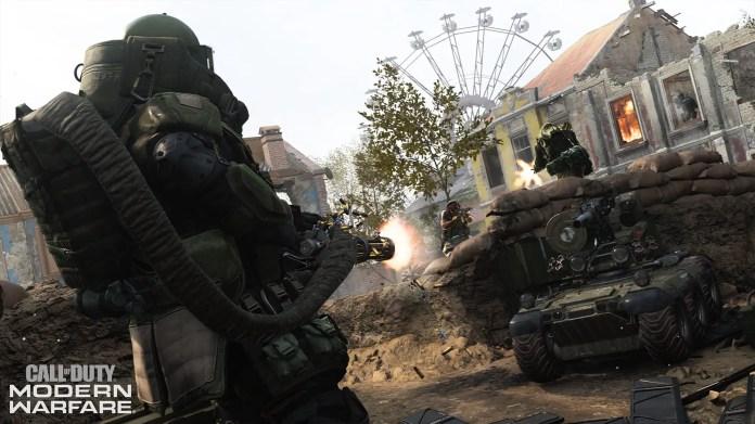 Modern Warfare trailer screenshot | Sausage Roll