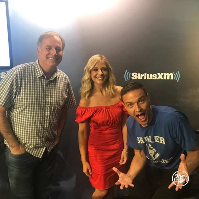 SMG poses with staff at SiriusXM