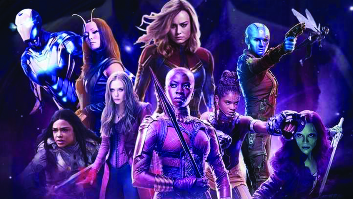 All female Avengers with Captain Marvel as lead is really happening